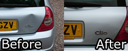 Renault Clio Before and After