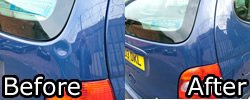 Renault Scenic, Before and After
